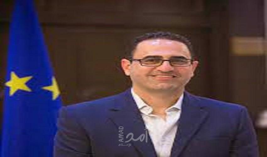 """عثمان يوضح لـ""""أمد"""" سبب عدم تحويل الاتحاد الأوروبي أموال للسلطة قبل """"أكتوبر"""""""