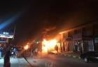 """كشف سبب الانفجار في معسكر """"الحشد الشعبي"""" بالنجف"""