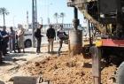 بلدية النصيرات تبدأ بحفر بئر مياه جديد بمنطقة المفتي