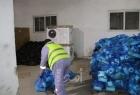 بيت لحم: المصادر العلائية والجمعية الفرنسية يوفران قسائم غذائية لأسر ذوي إعاقة بصرية
