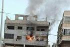 غزة: إصابة مواطن جراء حريق اندلع داخل شقة سكنية