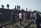 مصر: 8 وفيات وعشرات الجرحى في حصيلة مبدئية لحادث خروج قطار عن القضبان قرب طوخ