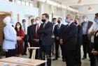 """الأردن: عضو مجلس الشيوخ الأمريكي """"كريس ميرفي"""" يزور مركز تدريب وادي السير التابع للأونروا"""