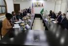 الشيخ وفرج يلتقون المبعوث الأمريكي هادي عمرو ويطالبون وقف العدوان الإسرائيلي