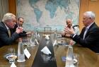 غانتس بعد لقاؤ ويسنلاند: ناقشنا الأوضاع الأمنية في قطاع غزة وضرورة الحفاظ على الهدوء