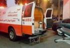 اصابة مواطن أثر تعرضه لصعقة كهربائية شرق خانيونس