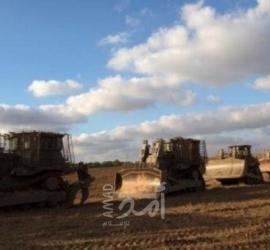توغل 6 جرافات عسكرية إسرائيلية جنوب قطاع غزة