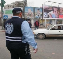 حالة الطرق وحواجث السير في قطاع غزة