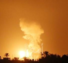 مدفعية الاحتلال تقصف موقعا عسكريا شمال غزة