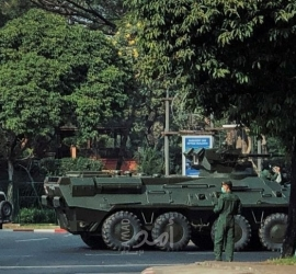 ميانمار: اشتباكات في الشوارع بين معارضى الانقلاب ومؤيديه