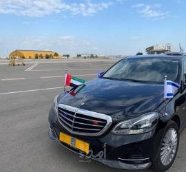 السفير الإماراتي في إسرائيل يصل تل أبيب