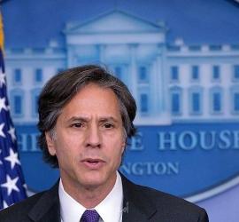 """بلينكن: واشنطن توفد مبعوثا  لحض الإسرائيليين والفلسطينيين على """"التهدئة"""""""