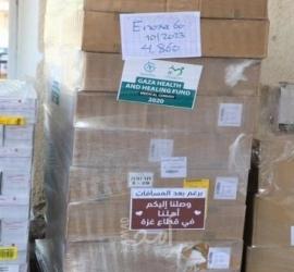 تنمية القدس وهيئة المنظمات الأهلية تقدمان مستلزمات طبية لصالح ملجأ راهبات المخلص