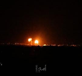 طائرات الاحتلال تقصف أهدافًا أمنية في قطاع غزة