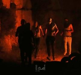 """بدء فعاليات """"الإرباك الليلي"""" في بلدة بيتا قرب جبل صبيح جنوب نابلس"""