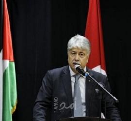 مجدلاني نثمن جهود السويد ودعمها للقضية الفلسطينية