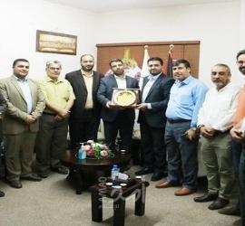 بلدية جباليا تهنئ سمير مطير لتوليه منصب وكيل وزارة الحكم المحلي