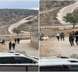 مواجهات واعتقالات مع قوات الاحتلال الإسرائيلي بالضفة الغربية