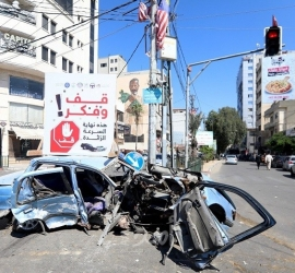 مرور غزة: إصابتان في (3) حوادث سير خلال 24 ساعة بالقطاع