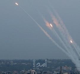 إطلاق (4) صواريخ تجريبية من غزة تجاه البحر