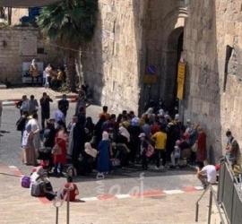 """القدس: شرطة الاحتلال تعرقل وصول المصلين إلى """"المسجد الأقصى"""""""