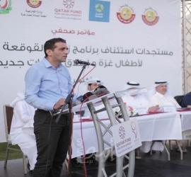 الوفد الطبي القطري يختتم إجراء 50 عملية زراعة قوقعة لأطفال غزة