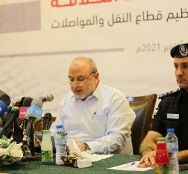 مواصلات وداخلية حماس تعلنان عن جملة تسهيلات للسائقين في قطاع غزة