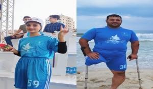 شاهد - رياضة التجديف في غزة .. تحدي وعزيمة رغم الحصار والاغلاق