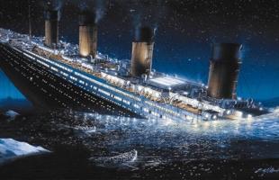شاهد الجبل الجليدي الذي أغرق سفينة تايتنك