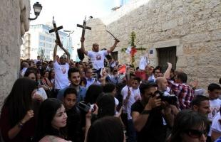 الشؤون المدنية: 300 تصريح للضفة والقدس و200 لخارج الوطن لمسيحي غزة