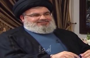 """نصر الله يدعو لحل ملف الفلسطينيين في لبنان بشكل """"علمي"""" وبدون """" مزايدات """"!"""