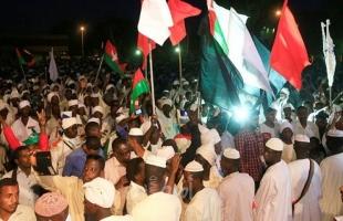 """محتجون من """"عطبرة"""" السودانية يتدفقون على العاصمة"""