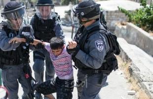 جيش الاحتلال يعتقل طفلين من الخليل وبيت لحم