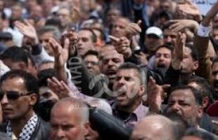 مجموعة من المتقاعدين العسكريين والمنظمة يناشدون الرئيس عباس بصرف مستحقاتهم