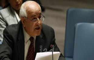 """منصور: جلسة مفتوحة لمجلس الأمن نهاية """"أكتوبر"""" لمناقشة عقد مؤتمر دولي للسلام"""