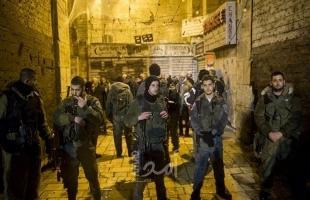 جيش الاحتلال يعتقل طفلين مقدسيين من باب العامود