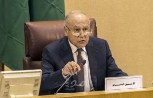 """أبو الغيط يدعو الدول المانحة لتمويل """"الأونروا"""" لسد عجزها المالي وضمان استمرار عملها"""