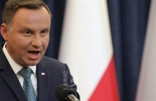 الرئيس البولندي: الاعتداء على السفير في إسرائيل يكشف كراهية اليهود لنا