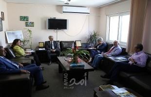 رئيسة سلطة جودة البيئة تبحث مع القنصل الفرنسي تعزيز التعاون المشترك