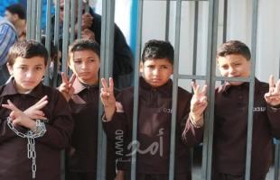 أسرى فلسطين: ارتفاع عدد سفراء الحرية إلى 86 طفلاً