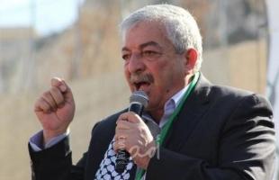 العالول: تواصل لأطراف عديدة مع القيادة الفلسطينية وإسرائيل والإدارة الأمريكية لإعادة عملية السلام