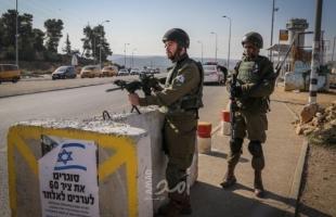 جيش الاحتلال ينصب حاجزاً على مدخل بيت لحم الجنوبي