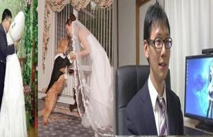 10 أشخاص تزوجوا أشياء غريبة