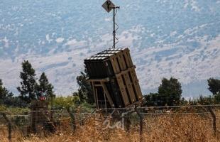 """نشر القبة الحديدية شمال وجنوب إسرائيل تحسباً لإطلاق صواريخ من """"غزة وسورية"""""""