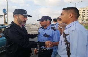 مدير عام شرطة حماس الجديد يتفقد حاجزي التفجير بغزة ويصدر تعليمات جديدة