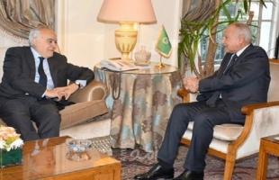 أبو الغيط يبحث مع غسان سلامة سبل وقف القتال بين الأطراف الليبية