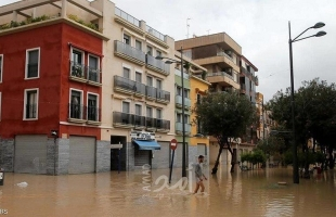 إجلاء مئات الأشخاص جنوب شرق إسبانيا جراء الفيضانات