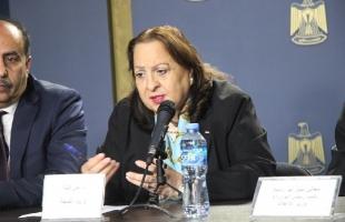 وزيرة الصحة تتخذ جملة إجراءات بعد تسجيل إصابة لطبيب في مجمع فلسطين الطبي برام الله