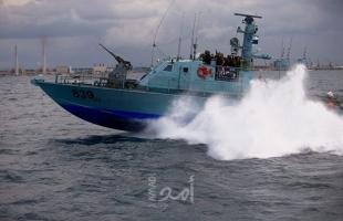 بحرية الاحتلال تطلق النار تجاه مراكب الصيادين مقابل بحر شمال غزة