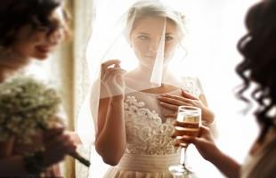 عروس تفاجئ الحضور بأغرب إطلالة